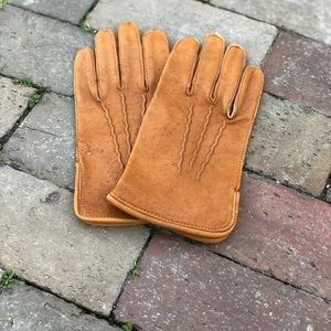 Vintage Women's South African Cape Leather Gloves